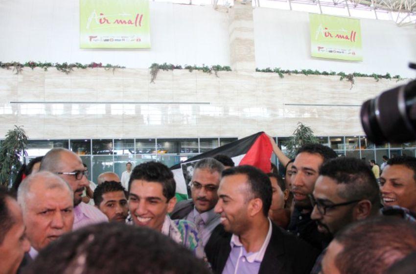 السفير الفلسطيني في مصر ومحمد عساف