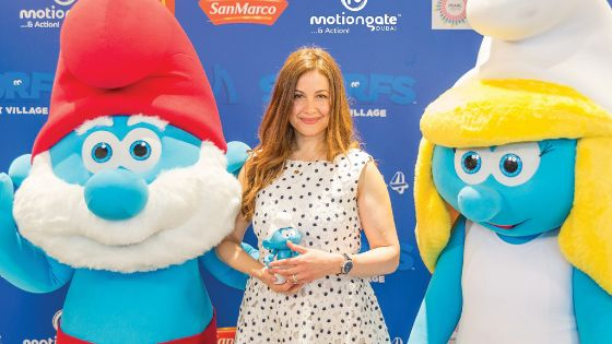 Smurfs Premiere Raya Abirached 2
