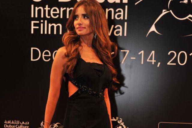 الفنانة المصرية زينة في مهرجان دبي السينمائي