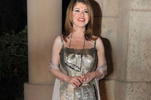 المذيعة المصرية هالة سرحان في مهرجان دبي السينمائي