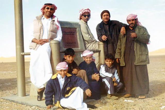 ناصر القصبي في رحلته للربع الخالي