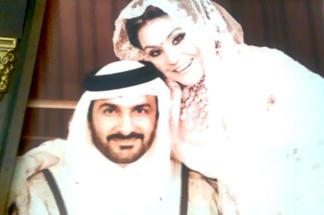 الفنانة الإماراتية أحلام تكشف عن صور لم يسبق نشرها لزفافها إلى مبارك الهاجري