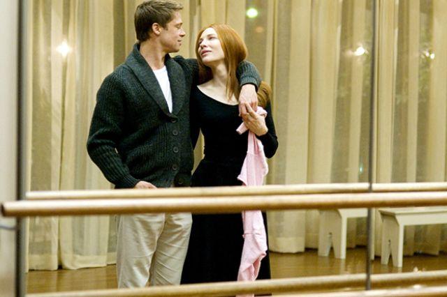ومع كيت بلانشيت في فيلم The Curious Case of Benjamin Button