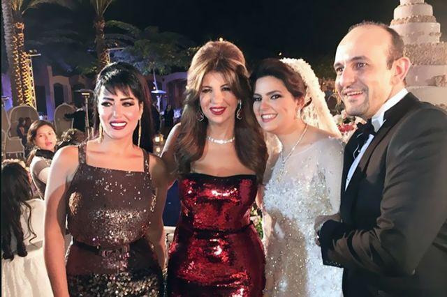 زفاف ابنه صفاء أبو السعود