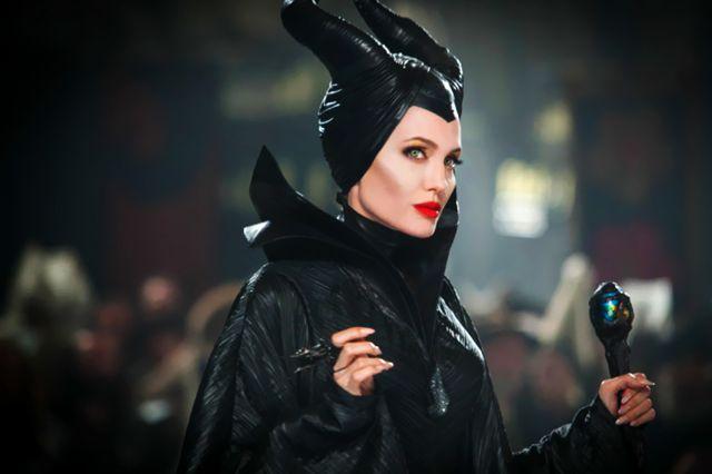 جولي في لقطة من Maleficent