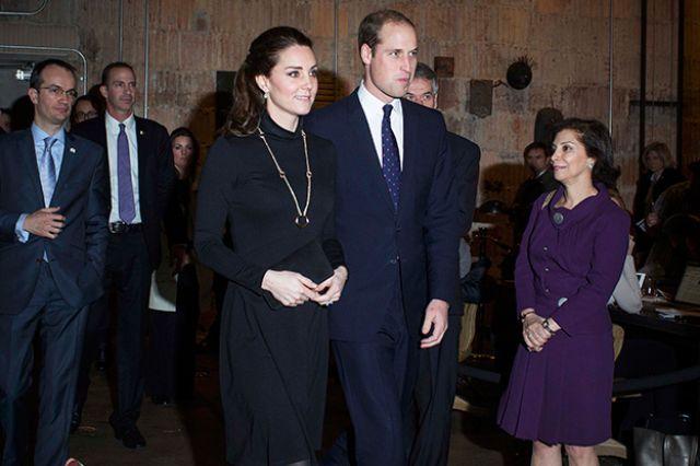دوق كامبريدج وزوجته أثناء حضورهم فعاليات حدث بريطاني بإسم الإبداع العظيم في نيويورك