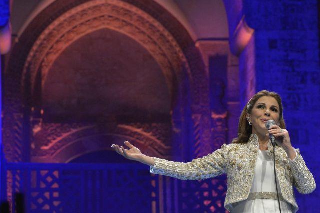 ماجدة الرومي على مسرح بيت الدّين