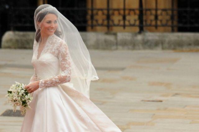كيت ميدلتون فى زفافهاالأسطورى