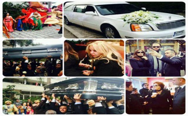 بالصور شاهد الفنانين والفنانات الذين حضروا جنازة الفنانة صباح 122