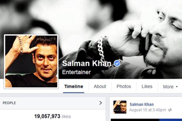 عدد معجبين سلمان خان على الفيس بوك