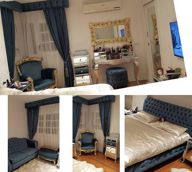 غرفة نوم مي عز الدين