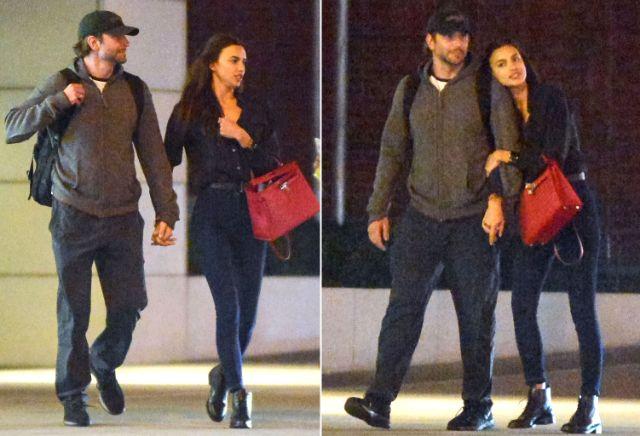 إيرينا مع برادلي في نيويورك