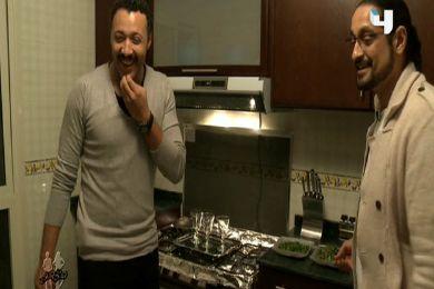 الفنان المصري أحمد فهمي يستضيف شادي ونيروز في منزله