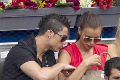 كريستيانو رونالدو وصديقته الروسية إيرينا شايك