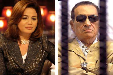 إلهام شاهين: قلبي يتقطع على مبارك
