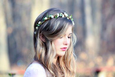 اكسسوارات شعر العروسة