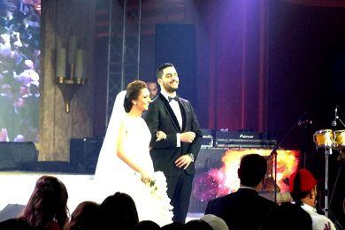 احلام ونانسي عجرم بالصور يشاركون الشافعي زفافه وغياب راغب علامه 541.jpg
