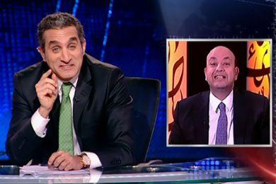 عمرو أديب يرجو mbc مصر لإعادة باسم يوسف من الأجازة.. اكتشف السبب