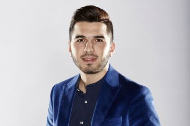 "Hazem Al Sharif  the winner of  ""Arab Idol"" 2014"