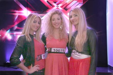 THE M SISTERS في كواليس THE X-FACTOR