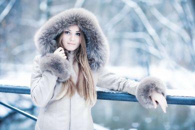 الشعر في الشتاء