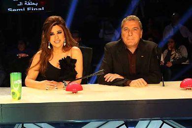 قبلة جابر لنجوى كواليس Arabs Talent حقيقة جابر نجوى