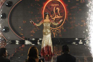 بالصور مشاهير العالم العربي تغريدة احلام طلتها بالحلقة برنامج اراب ahlaaaam.jpg