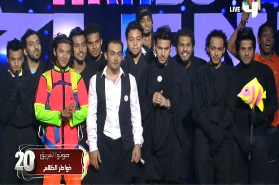 ��� ���� ����� ������ �� ������ ������� �� Arabs Got Talent 2012