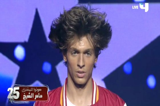 ��� ���� ����� �� ������ ������� �� Arabs Got Talent 2012
