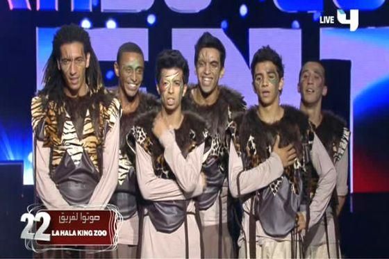 ��� ���� La Halla King Zoo �� ������ ������� �� Arabs Got Talent 2012