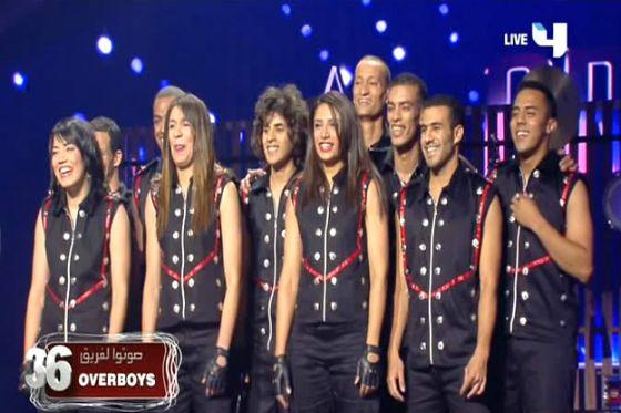 صور فرقة Over boys في الحلقة الاخيرة من Arabs Got Talent 2012