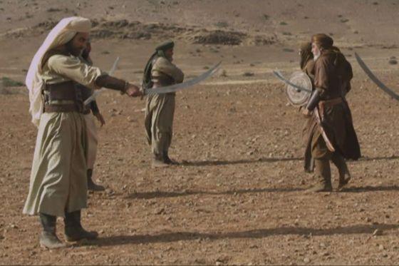 صور معارك مسلسل عمر