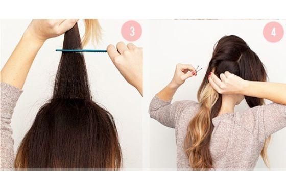 ترك شعرك مموج فقط، وتريدين التغيير، يمكنك جمع هذه التسريحتين