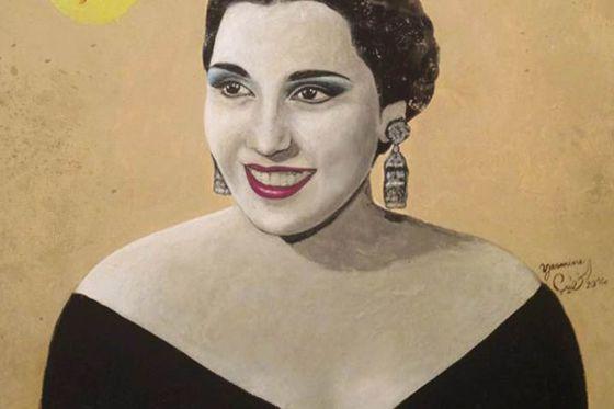 تحية كاريوكا بريشة ياسمين الخطيب