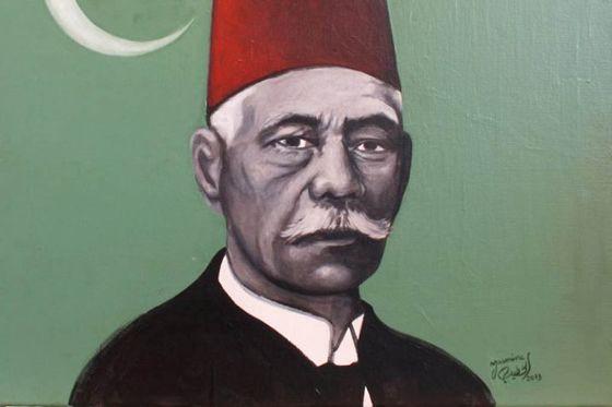 سعد زغلول بريشة ياسمين الخطيب