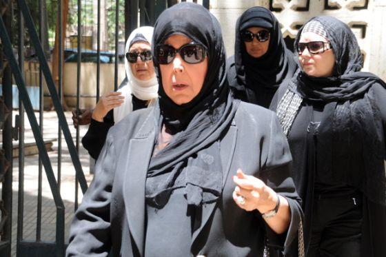 تشييع جثمان الفنانة وردة الجزائرية