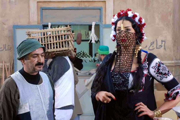 غادة عبد الرازق في مشهد من مسلسل سمارة