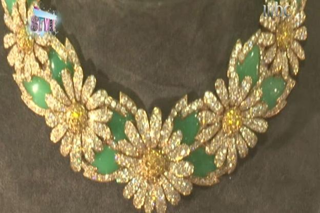 قطعة  رائعة مجوهرات من مجموعة إليزابيث تايلور