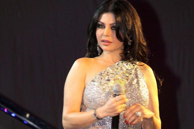 هيفاء وهبي خلال حفل بيروت الدولي