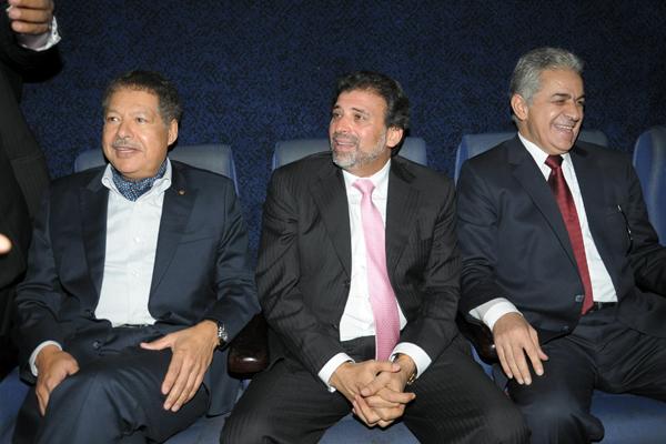 زويل في حوار باسم مع خالد يوسف وحمدين صباحي