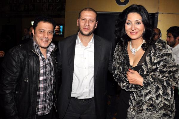 وفاء عامر مع عمرو عبد الجليل