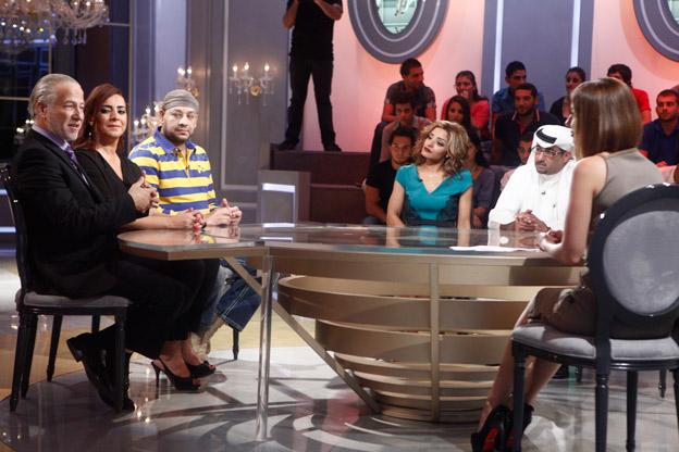 ضيوف برنامج نورت فادي إبراهيم، شكران مرتجى، عصام كاريكا، مرام، طلال حمزة