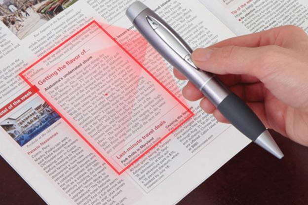 يمكنك هذا القلم من تصوير أي وثيقة وبسرعة