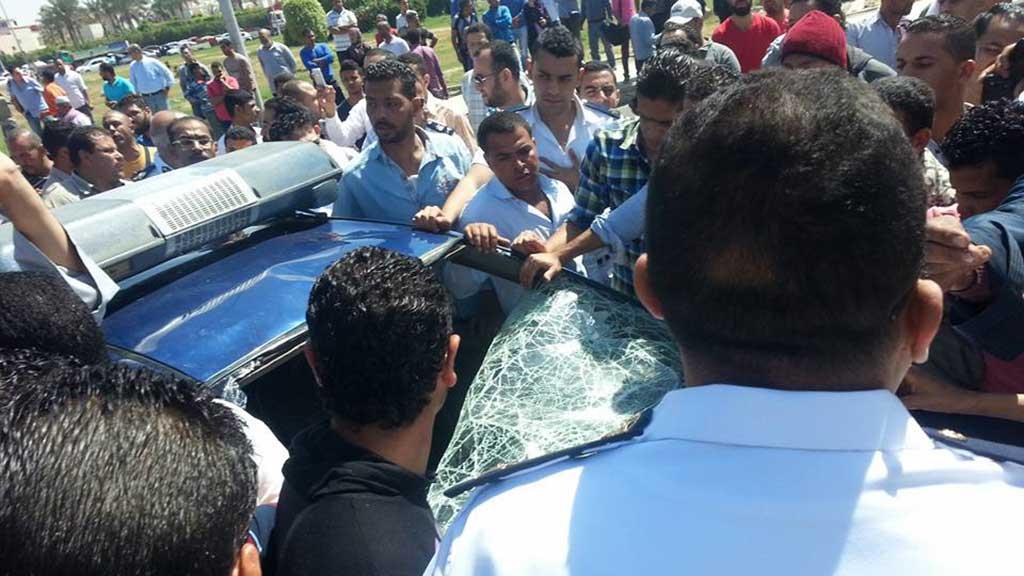 صورة أرشيفية للواقعة التي قام بها أمين شرطة بقتل بائع شأى