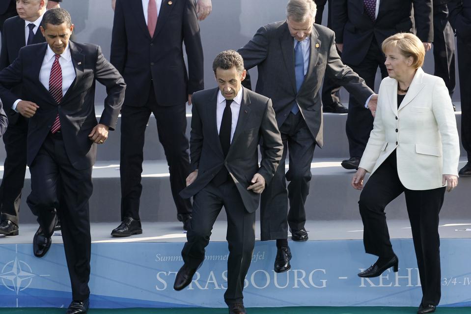 صور محرجة رؤساء العالم