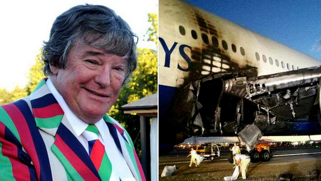 بعد 42 عاما من الطيران.. احترقت طائرته في آخر رحلة له