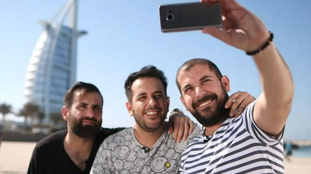 """خمس قصص مؤثرة تنافست في """"بطولة السعادة """" في دبي"""