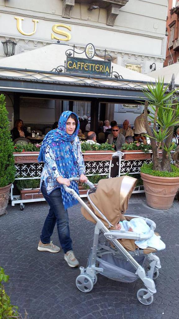 Manuela Franco Barbato converts to Islam wears Hijab