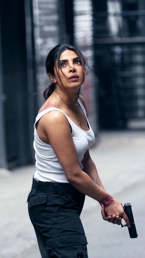 بريانكا شوبرا اثناء تصوير الجزء الثاني من مسلسلها Quantico