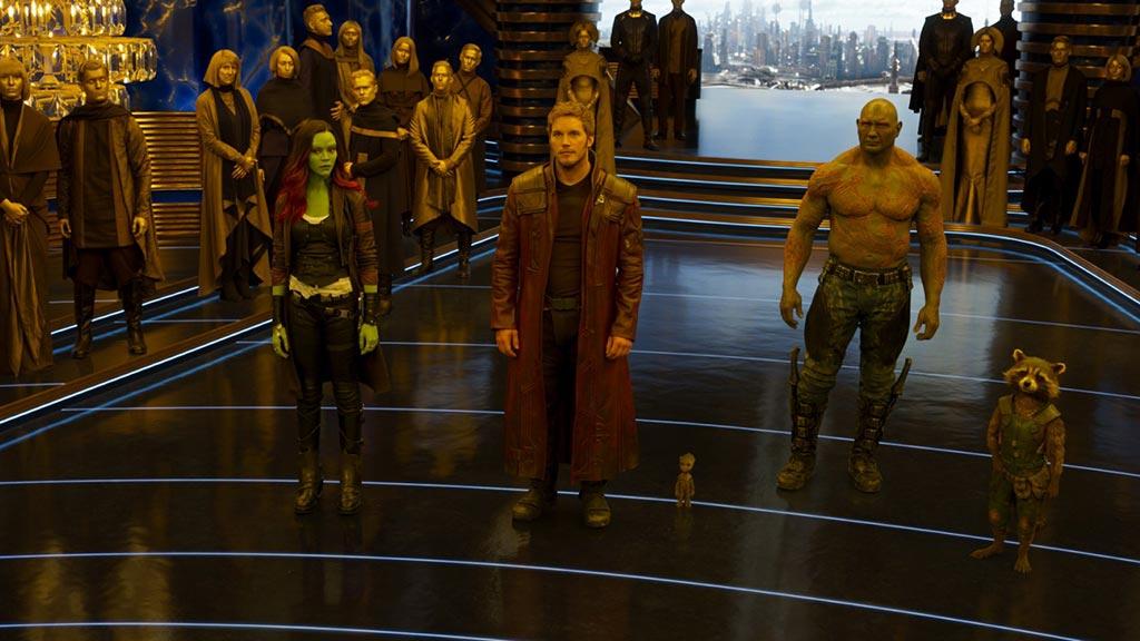 شاهد حماة المجرة يقاتلون فى مشاهد جديدة من Guardians of the Galaxy Vol. 2